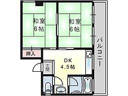 幾島マンション[2階]の間取り