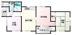 金子荘[2階]の間取り