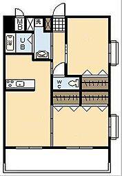 エリュシオン浮城[3階]の間取り