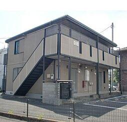 栃木県宇都宮市簗瀬1丁目の賃貸アパートの外観
