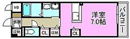 サニーキャンプ・東雲I[2階]の間取り