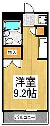 ミラ21[2階]の間取り
