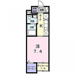 Animate Konishi[1階]の間取り