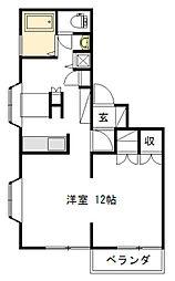 リッツハウス垂水[2階]の間取り