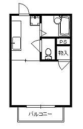 フレグランス矢立[2階]の間取り