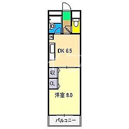 レガシィ21[7階]の間取り