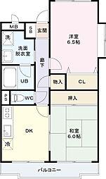 エスタシオン渋谷[3階]の間取り