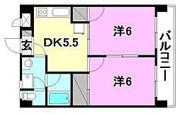 プチメゾン竹内II[303 号室号室]の間取り
