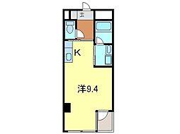 シャトーヨサミ[223号室]の間取り
