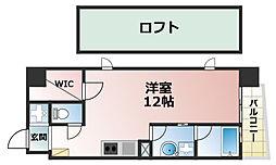 FOR DEAREST 六甲[7階]の間取り