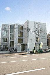 北海道札幌市中央区南四条西16の賃貸マンションの外観