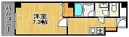 博多パレス[4階]の間取り