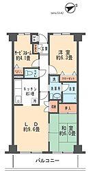 メゾンピア3[2階]の間取り