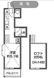 [タウンハウス] 東京都世田谷区南烏山5丁目 の賃貸【/】の間取り