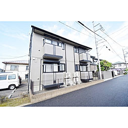 埼玉県川越市鯨井の賃貸アパートの外観