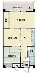 鈴木第2ビル[4階]の間取り
