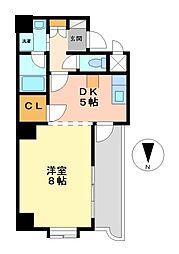 セレス大須[1階]の間取り