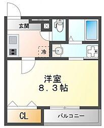 フジパレス江坂V番館[1階]の間取り