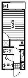 大塚980[A6号室]の間取り