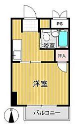 PLEAST箱崎[4階]の間取り