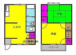 レジデンス高尾台[1階]の間取り
