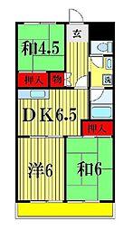 第8泉マンション[1階]の間取り