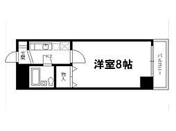 メゾンジョアパートⅡ[5階]の間取り