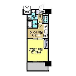 MANAKA BLD[703号室]の間取り