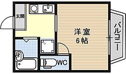 リブライブ2[209号室号室]の間取り