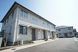福岡県糟屋郡新宮町大字湊の賃貸アパートの外観