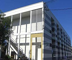 京都府京都市右京区太秦朱雀町の賃貸アパートの外観