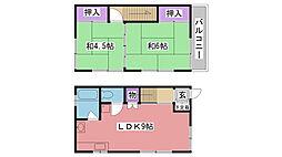 [テラスハウス] 兵庫県西宮市浜甲子園1丁目 の賃貸【/】の間取り