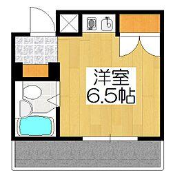 BIOS京都西陣AYANAS[206号室]の間取り