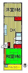 N・Sマンション[301号室]の間取り