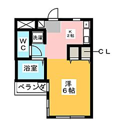 HOUSE LOKO[3階]の間取り