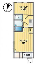 [一戸建] 東京都渋谷区笹塚3丁目 の賃貸【/】の間取り