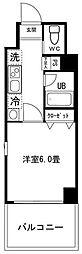 ロワール横濱反町[3階]の間取り