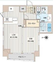 プレール・ドゥーク銀座イースト[9階]の間取り