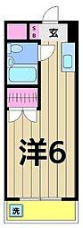 エレガンス綾瀬6[213号室]の間取り