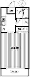 シントミプラザ徳丸[208号室]の間取り