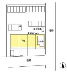 群馬県伊勢崎市平和町の賃貸マンションの外観