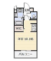 ニューサンリバー15番館[4階]の間取り