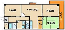 エルコーポ88[4階]の間取り