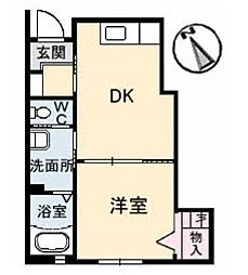 セキュアコート[1階]の間取り