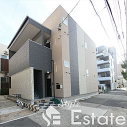 愛知県名古屋市中村区佐古前町の賃貸アパートの外観