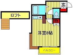 野田カサベラ2番館[103号室]の間取り