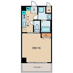 マーブルコート[4階]の間取り
