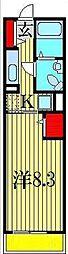 グレイスカレントII[3階]の間取り