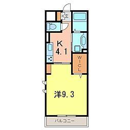 仮)D−ROOM刈谷市矢場町 B棟[2071号室]の間取り
