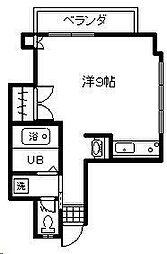 リバティハウス2[605号室]の間取り